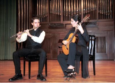 Dúo Rodríguez-Paredes. Recital de flauta y guitarra