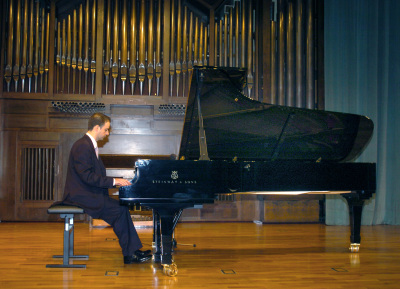 Alberto Urroz. Recital de piano
