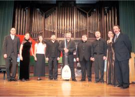 Capilla Real de Madrid y Oscar Gershensohn. Concierto Madrigales de Monteverdi , 2004