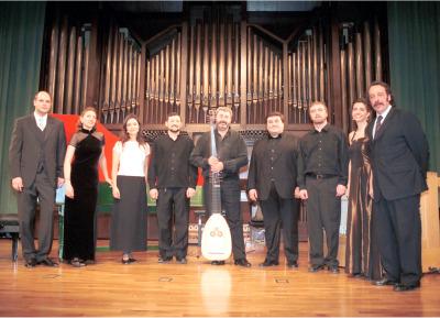 Capilla Real de Madrid y Oscar Gershensohn. Concierto Madrigales de Monteverdi