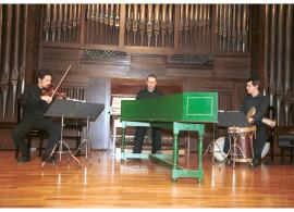 Joan Chic, David Mayoral, Jesús Gonzalo y Grupo Parnaso Español. Concierto Cinco siglos de danzas , 2004