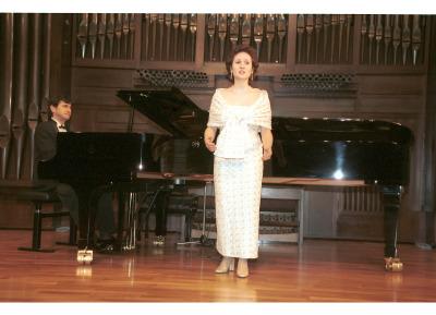 Diana López y Juan Ignacio Martínez Ruiz. Recital de canto y piano