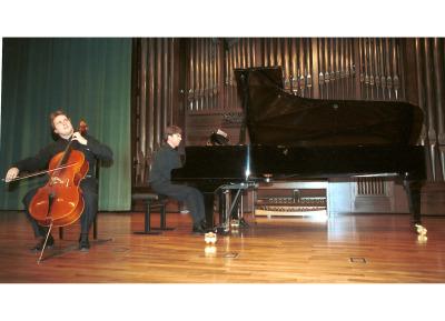 Michal Dmochowsky y Graham Jackson. Concierto Cinco siglos de danzas