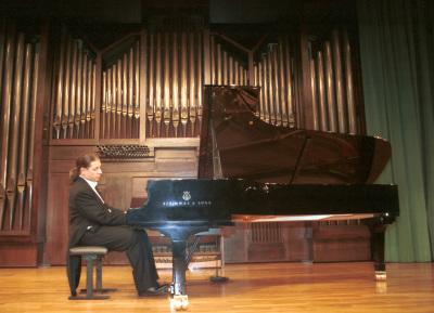 Sandro Ivo Bartoli. Concierto Piano italiano del siglo XX