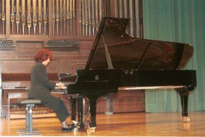 Eulalia Solé. Concierto El esplendor de la música española (1900-1950)