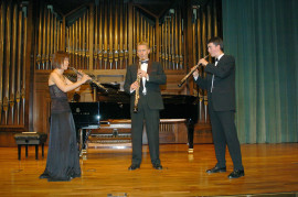 Escuela Superior de Música Reina Sofía. Recital de música de cámara , 2004