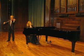 Alexander Detisov y Eugenia Gabrieluk. Concierto El esplendor de la música española (1900-1950) , 2004