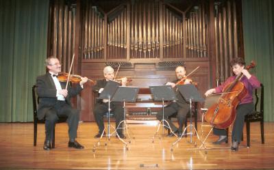 Alexander Detisov, Levon Melikian, Alexander Troshchinsky, Pilar Serrano y Cuarteto Harmony. Concierto El esplendor de la música española (1900-1950)