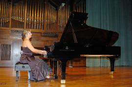 Mariana Gurkova. Concierto El piano de los grandes maestros , 2004