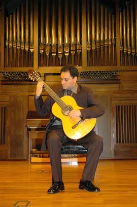 David Escribano. Recital de guitarra , 2004