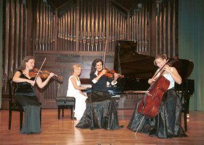 Ala Voronkova, Mary Ruiz Casaux, Trío Clara Schumann, Suzana Stefanovic y Elisabeth Romero. Concierto Ars Gallica: un siglo de música de cámara francesa
