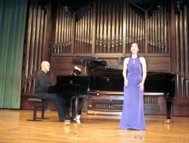 Marta de Castro y Jorge Robaina. Recital de canto y piano , 2004