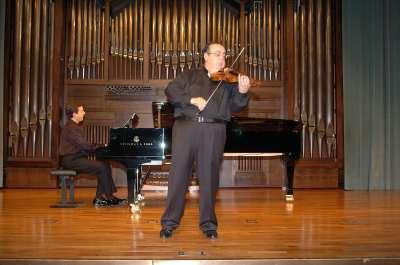 Gerardo López Laguna y Ángel Jesús García. Concierto Ars Gallica: un siglo de música de cámara francesa