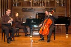 Trío Max Bruch, Jacobo López Villalba, Adolfo Garcés-Sauri y Enrique Bernaldo de Quirós. Recital de música de cámara , 2004