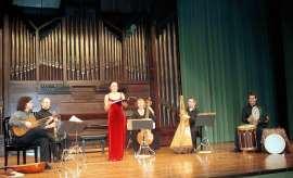 Florilegium Hispanicum, Jan Grimbergen, Rafael Bonavita, David Mayoral, Isabel Álvarez, Renée Bosch y Manuel Vilas. Concierto Música española barroca , 2004