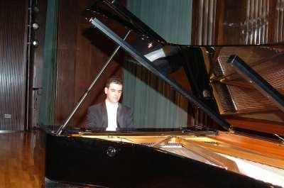 Daniel Ortega Rojo. Concierto Tercera tribuna de jóvenes intérpretes: el piano