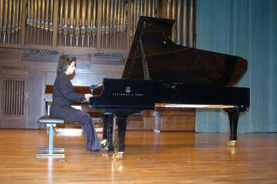 Sofía Melikyan. Concierto Tercera tribuna de jóvenes intérpretes: el piano