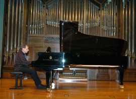 Josep Colom. Concierto Compositores de la naturaleza. Con motivo de la exposición Caspar David Friedrich: arte de dibujar , 2009