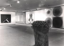 Vista parcial de la exposición Zero, un movimiento europeo Colección Lenz Schönberg, 1988