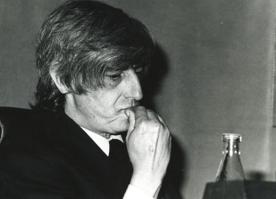 Juan Benet en el ciclo Novela Española Contemporánea