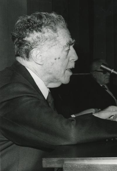 Juan Contreras y López de Ayala (Marqués de Lozoya). Conferencia de inauguración de la EXPOSICIÓN ANTOLÓGICA DE LA CALCOGRAFÍA NACIONAL