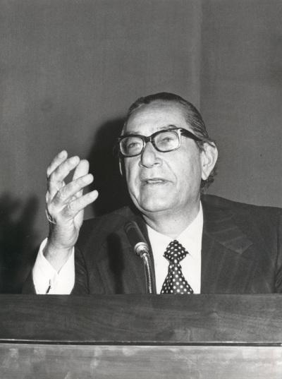 Luis Rosales en el ciclo Literatura Viva