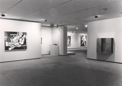 Vista parcial de la exposición Colección Leo Castelli