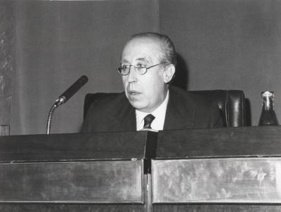 Francisco García Pavón en el ciclo Literatura Viva