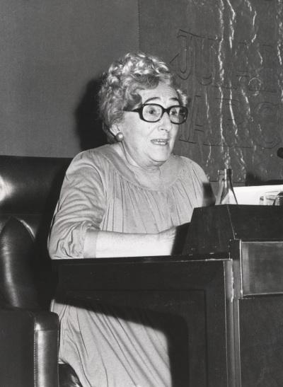 Rosa Chacel en el ciclo Literatura Viva