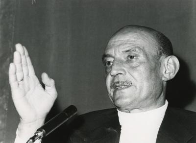 José Hierro en el ciclo Literatura Viva