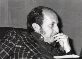 José María Rodríguez Méndez en el ciclo Teatro Español Actual, 1976