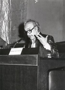 Francisco Nieva en el ciclo Teatro Español Actual, 1976
