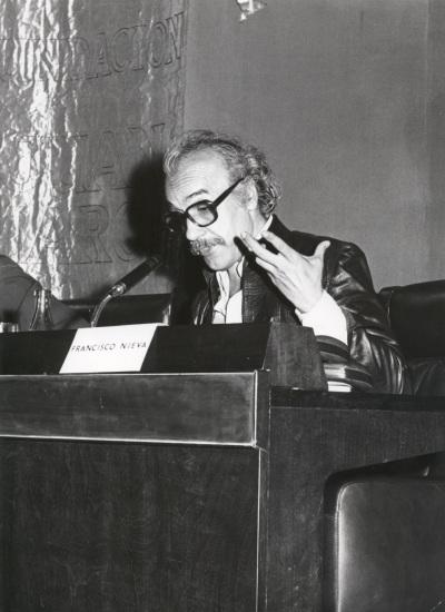 Francisco Nieva en el ciclo Teatro Español Actual