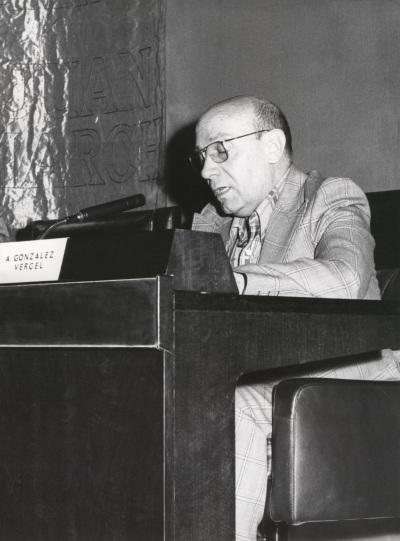 Alberto González Vergel en el ciclo Teatro Español Actual