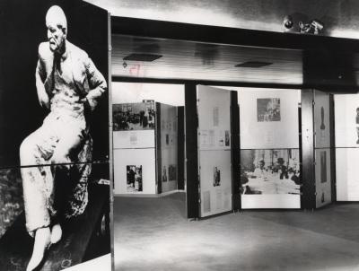 Salas de exposición con motivo del ciclo sobre Sigmund Freud