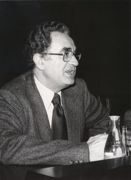 Francisco Marsá Gómez. Conferencia sobre Feijóo en el pensamiento político y social de la Ilustración dentro del ciclo Centenario de Feijóo , 1976
