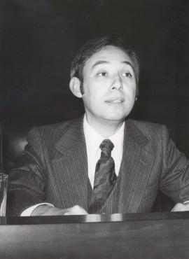 Humberto López Morales. Conferencia sobre Feijóo en el pensamiento político y social de la Ilustración dentro del ciclo Centenario de Feijóo , 1976