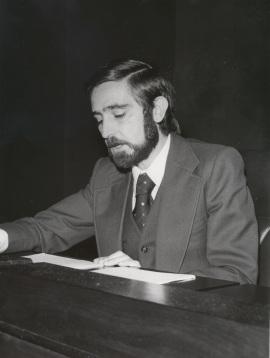 Francisco Villar Liébana. Conferencia sobre Feijóo en el pensamiento político y social de la Ilustración dentro del ciclo Centenario de Feijóo , 1976