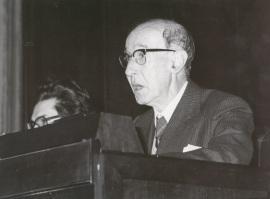 Gerardo Diego. Conferencia con motivo del Concierto Homenaje a Federico Mompou, 1977