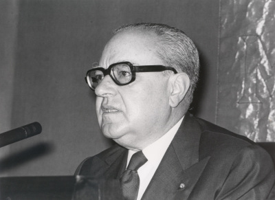 Alberto Ginastera en el Homenaje a Alberto Ginastera