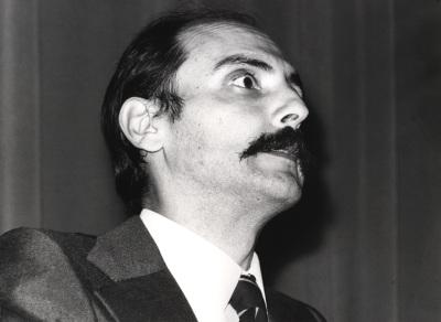 Francisco González Sastre en la I Semana de Biología