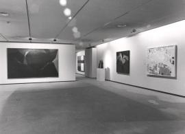 Vista parcial de la exposición Arte español contemporáneo Colección de la Fundación Juan March, 1989