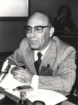 Mariano Yela. Conferencia en el curso Problemas actuales de la psicología científica, 1979