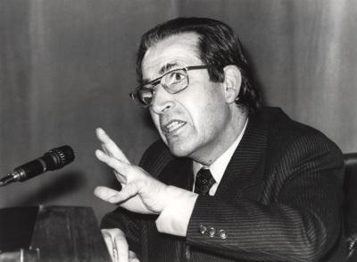 Ramón Piñeiro. Conferencia sobre Rosalía de Castro dentro del ciclo Cuatro escritores gallegos