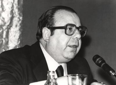 Ángel Latorre. Conferencia sobre El pensamiento de Manuel Azaña para un español de postguerra dentro del ciclo Liberales españoles contemporáneos