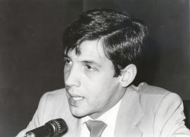 Nicolás Extremera. Conferencia sobre La diversidad estética de Fernando Pessoa en los años de Orpheu dentro del ciclo Homenaje a Fernando Pessoa , 1981