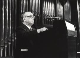 Enrique Franco. Conferencia con motivo del Homenaje a Xavier Montsalvatge, 1982