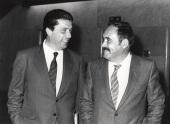Federico Mayor Zaragoza y Antonio García Bellido. Conferencia sobre Morfogénesis en seres vivos dentro del ciclo La nueva Biología , 1982
