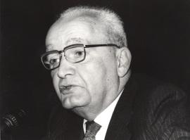 Massimo Severo Giannini. Conferencia sobre Las competencias y la financiación de las regiones: a) La normativa en vigor dentro del ciclo El regionalismo italiano , 1983