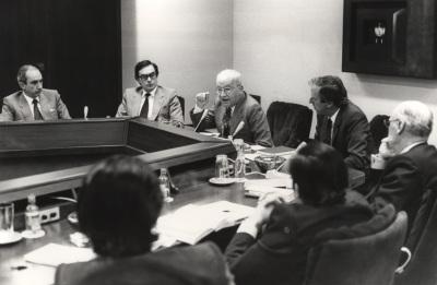 Massimo Severo Giannini y Tomás Ramón Fernández Rodríguez. Conferencia sobre Las competencias y la financiación de las regiones: a) La normativa en vigor dentro del ciclo El regionalismo italiano